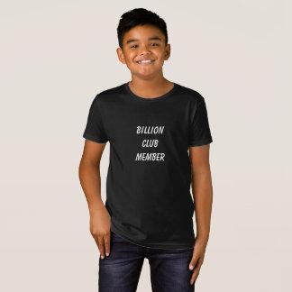 Jake's Billion Club boys shirt