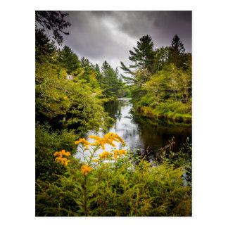 Jakes Falls Postcard