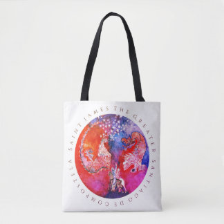 Jakobsweg, Santiago, St. James the Greater Tote Bag