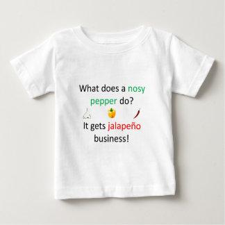 Jalapeño Joke Baby T-Shirt