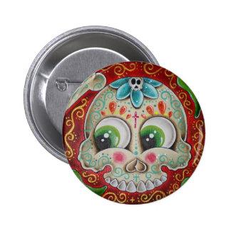 Jalapenos verdes 2 inch round button