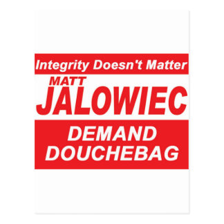 Jalowiec 2010 Campaign Sign DB Postcards