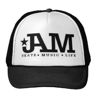 Jam- black skate hat