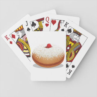 Jam Donut Playing Cards