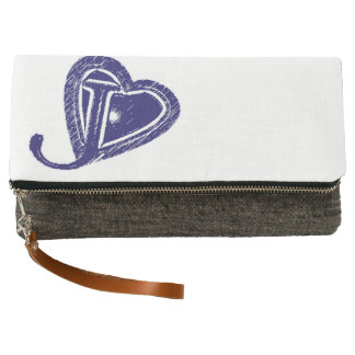 Jam.I.LA Logo Fold-Over Clutch