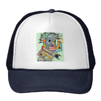 """Jam in Brooklyn"" by Ruchell Alexander Trucker Hat"