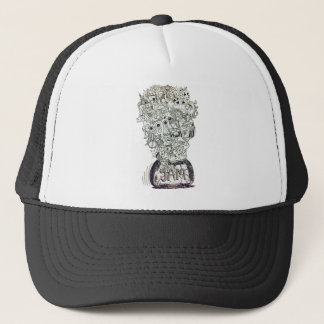 Jam Jar doodle Trucker Hat
