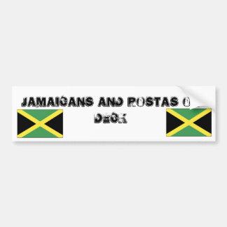 jamaica[1], jamaica[1], Jamaicans and Rostas on... Bumper Sticker