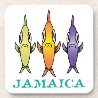 Jamaica 3-Fishes Coaster