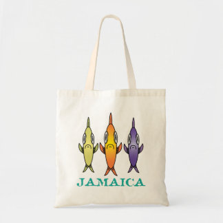 Jamaica 3-Fishes Tote Bag