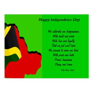 Jamaica 50th anniversary postcards