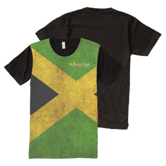 Jamaica All Over Print T Shirt