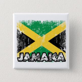 Jamaica Badge 2 Inch Square Button