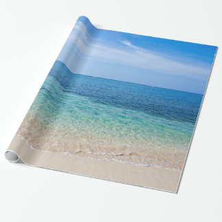 Jamaica Beach Wrapping Paper