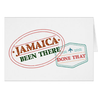 Jamaica Been There Done That Card