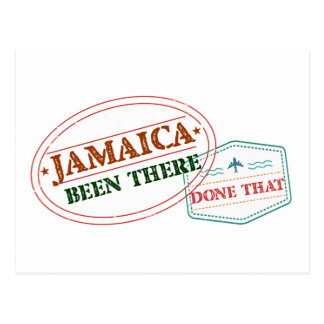 Jamaica Been There Done That Postcard