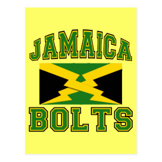 Jamaica Bolts Postcard