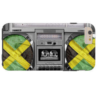 Jamaica boombox tough iPhone 6 plus case