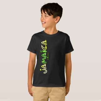 Jamaica (Brushed Stroke) Kids T-shirt