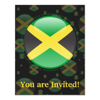 Jamaica Bubble Flag Card
