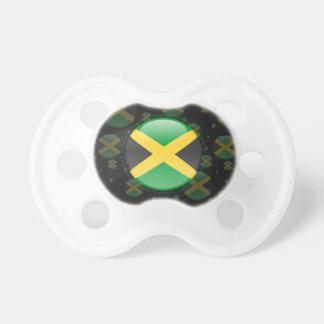 Jamaica Bubble Flag Pacifier