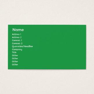 Jamaica - Business Business Card