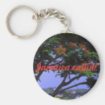 Jamaica callin! basic round button keychain