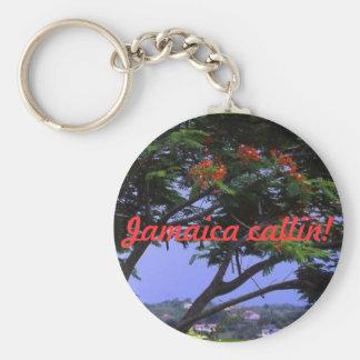Jamaica callin! keychain