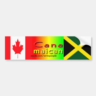 jamaica canadian bumper stickers