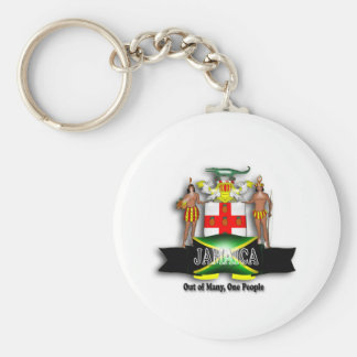 Jamaica Coat of Arms Keychain