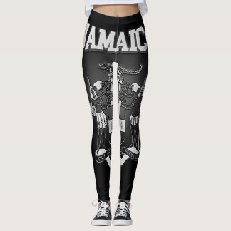 Jamaica Coat of Arms Leggings