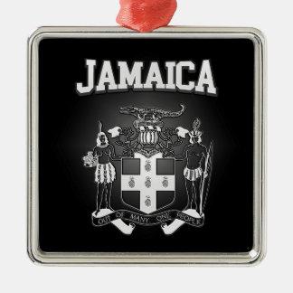 Jamaica Coat of Arms Metal Ornament