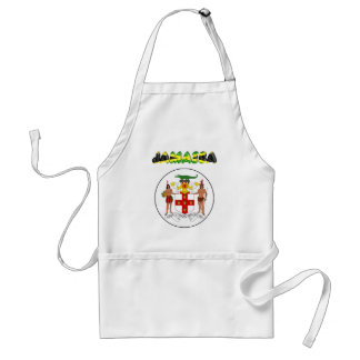 Jamaica Coat of arms Standard Apron