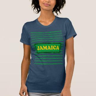 Jamaica Colors Designer#6 Modern Wave T-Shirt
