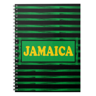Jamaica Colors Designer Modern Notebook