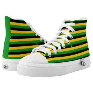 Jamaica Colors Flag Designer Modern Shoe Trend