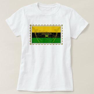 Jamaica Colors Humming Birds Stamp T-Shirt