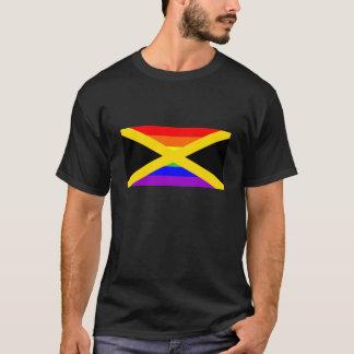 jamaica country gay proud rainbow flag homosexual T-Shirt