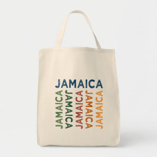 Jamaica Cute Colorful Tote Bag