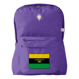 Jamaica Designer Back Pack Backpack
