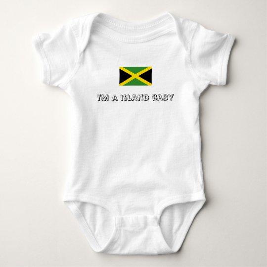 Jamaica designs baby bodysuit
