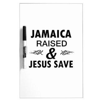 Jamaica designs dry erase board