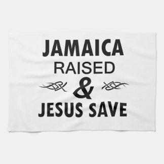 Jamaica designs kitchen towel