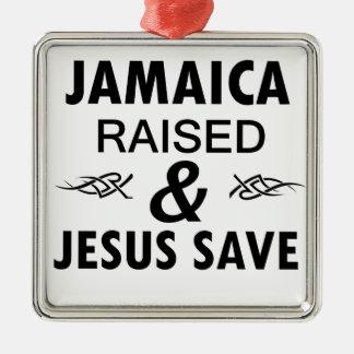 Jamaica designs metal ornament