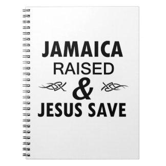Jamaica designs note books