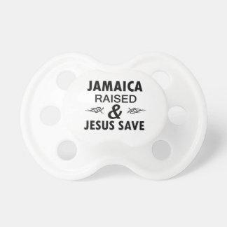 Jamaica designs pacifier