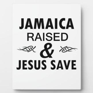 Jamaica designs plaque