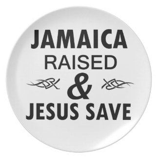 Jamaica designs plate
