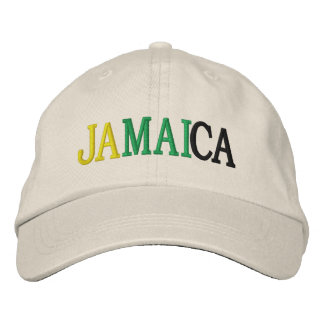 JAMAICA EMBROIDERED HATS