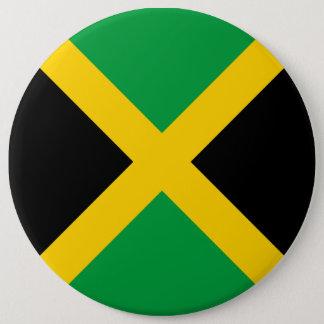 Jamaica Flag 6 Inch Round Button